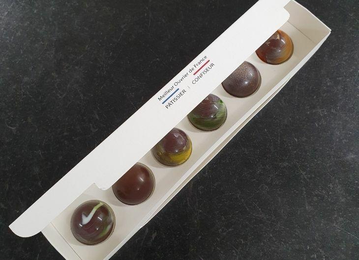 Boîte de 6 chocolats